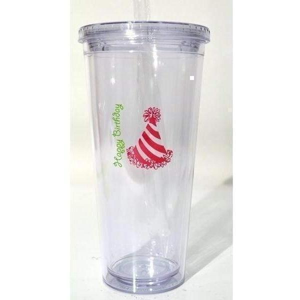 Happy Birthday 24 oz Tumbler