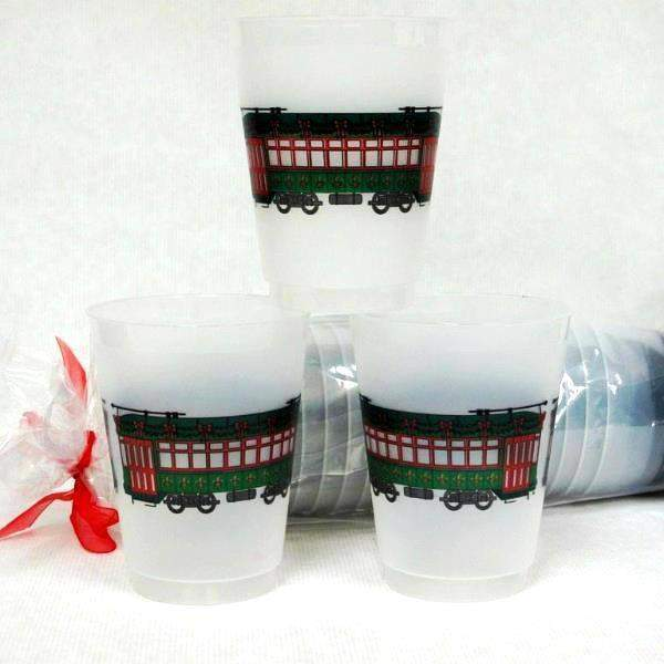 Holiday Streetcar Frost Flex Cups