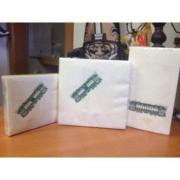 Holiday Streetcar Napkins & Guest Towels - Party Cup Express