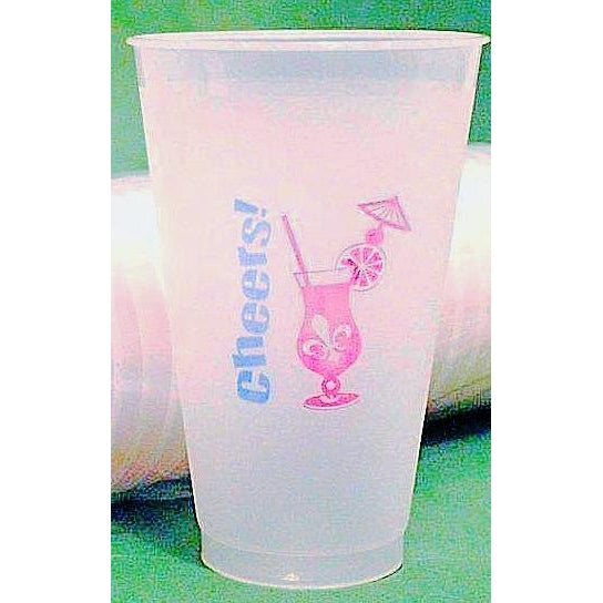 Hurricane Cheers Cups (25Pk) - Party Cup Express