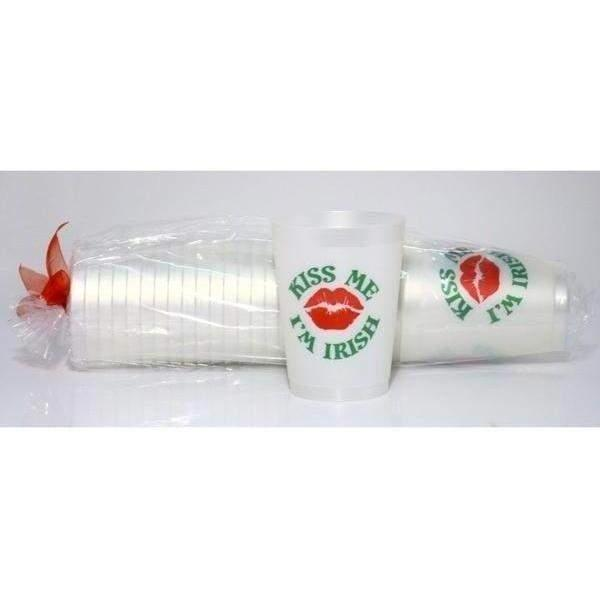 Kiss Me I'm Irish Frost Flex Cups - Party Cup Express