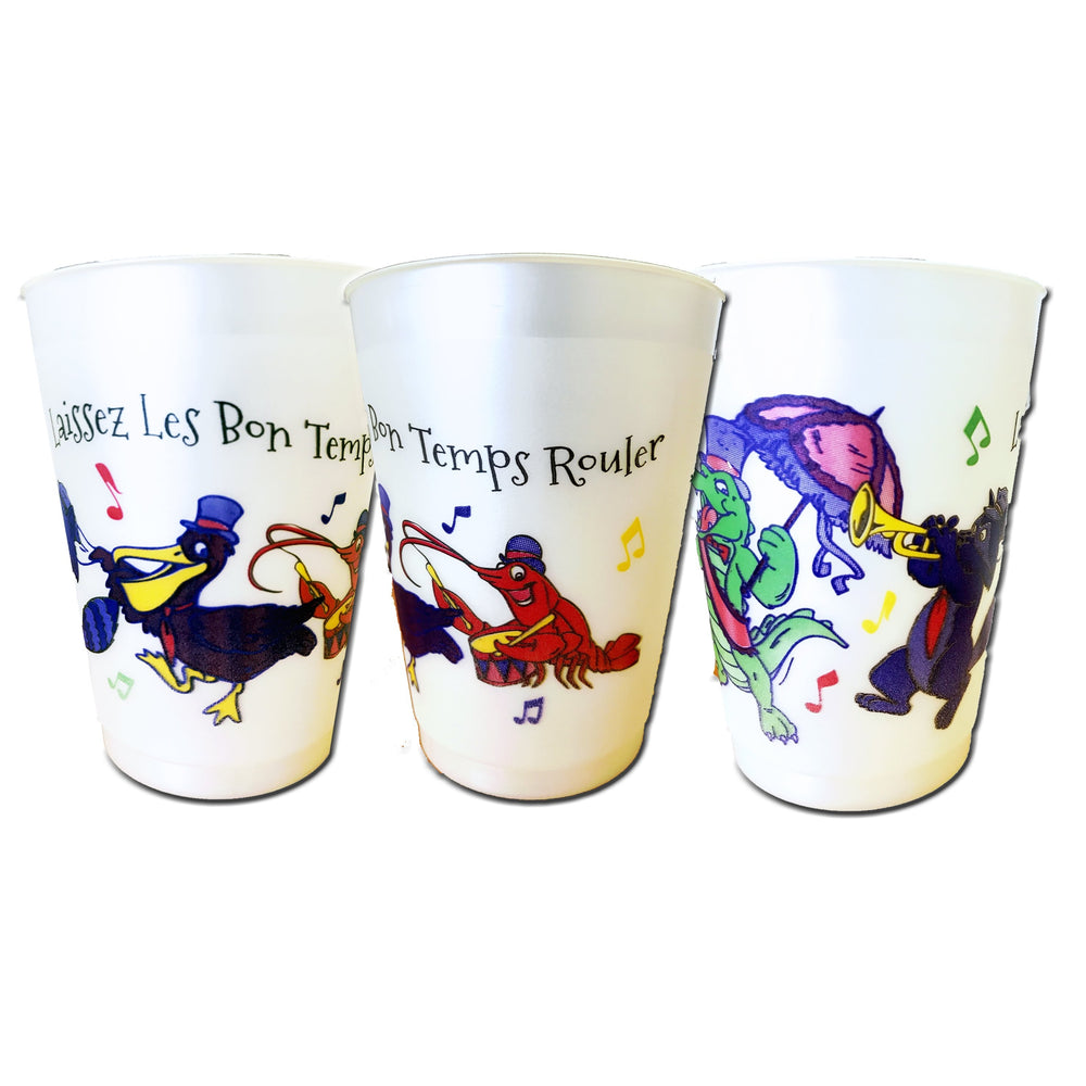 Second Line 16oz Frost Flex Cups (pk/25)