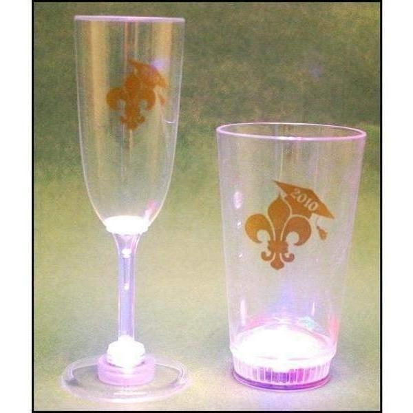 Light Up Graduation Champagne & Tumbler - Party Cup Express