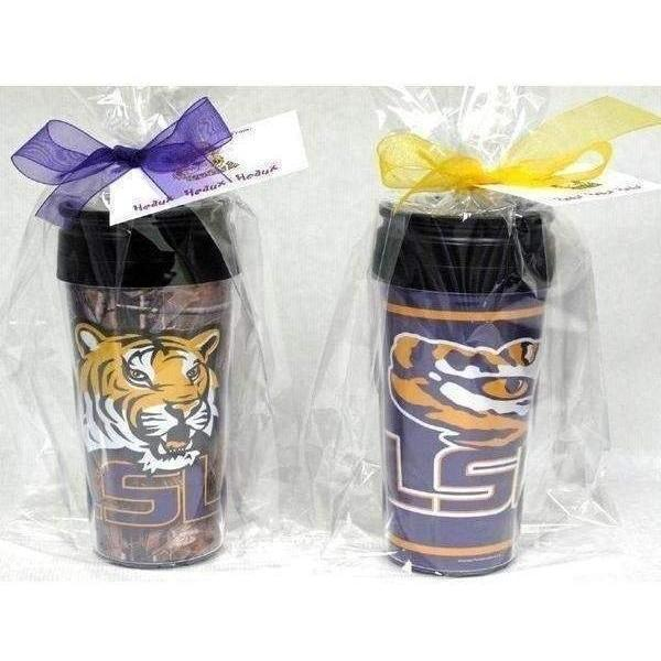 LSU Eye of The Tiger Travel Mug - Party Cup Express