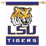 """LSU Tigers' Vertical Flag - Party Cup Express"