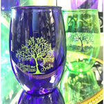 Mardi Gras Bead Tree Stemless Wine - Party Cup Express