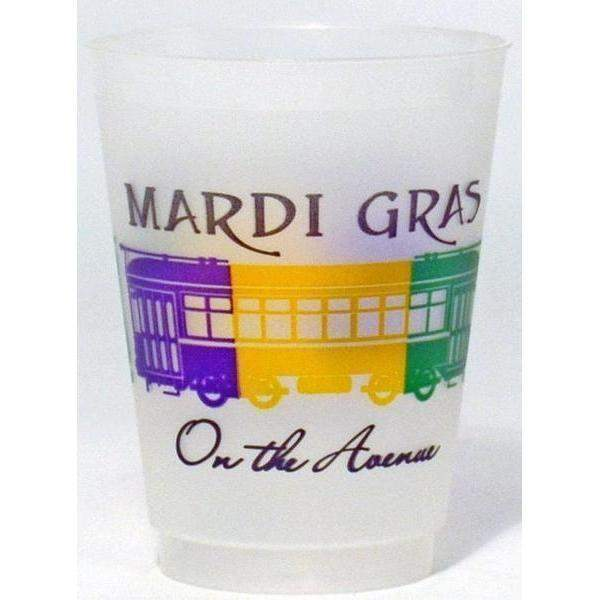 Mardi Gras On The Avenue Frost Flex Cups