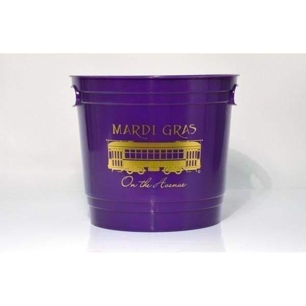 Mardi Gras On The Avenue Ice Bucket - Party Cup Express