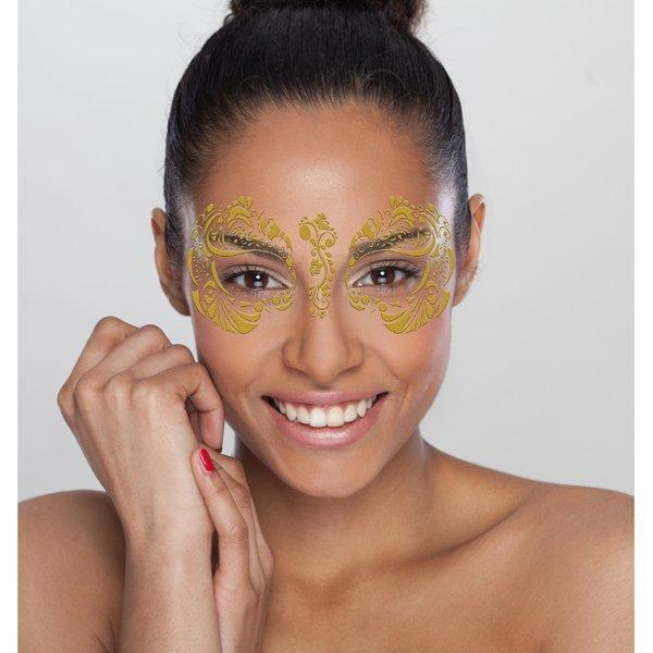 Metallic Gold Temporary Tattoo - Party Cup Express