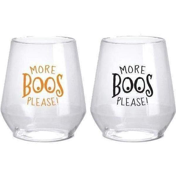More BOOS Stemless Wine Glasses - Party Cup Express