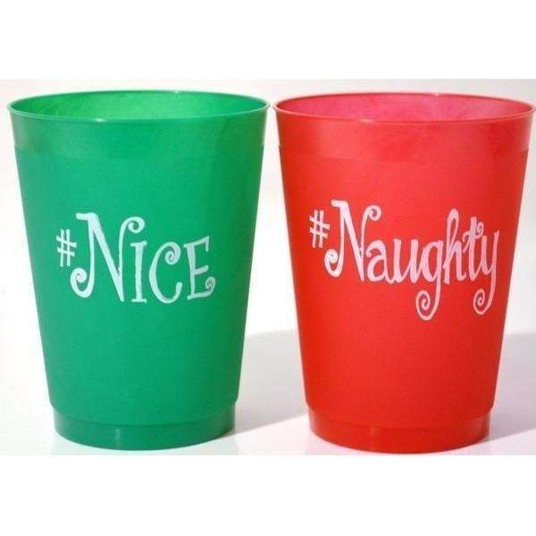 #Naughty #Nice Frost Flex Cups - Party Cup Express