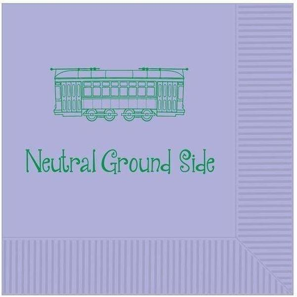 Neutral Ground Side Beverage Napkins - Party Cup Express