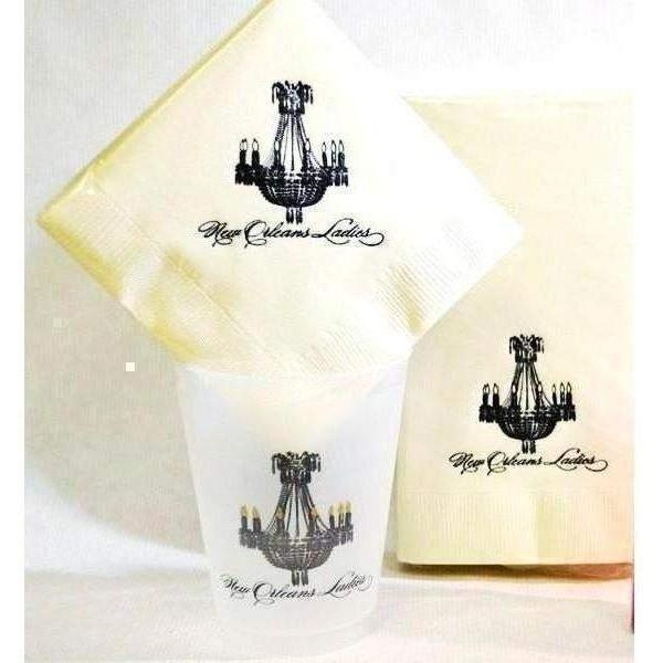 New Orleans Ladies Napkins - Party Cup Express