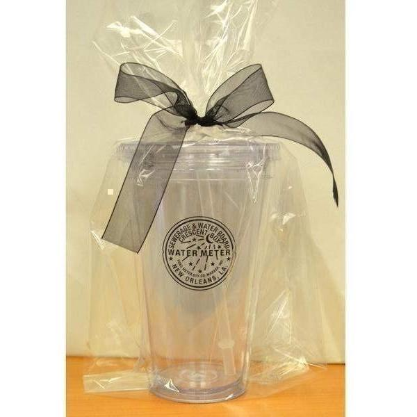 New Orleans Watermeter Acrylic Tumbler with Straw