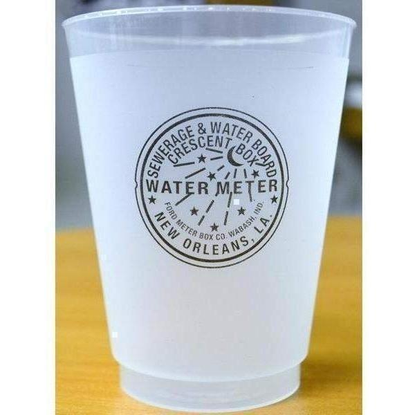 New Orleans Watermeter Frost Flex Cups - Party Cup Express
