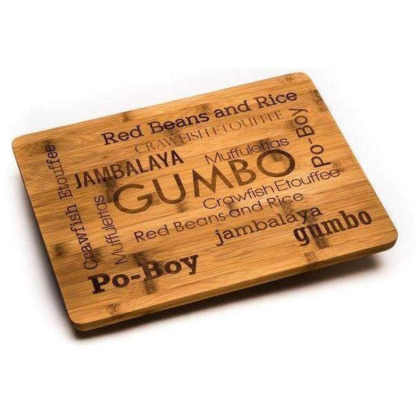 NOLA Bamboo Cutting Board - Party Cup Express