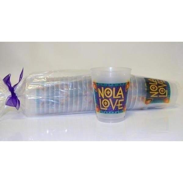 Nola Love Funky Folk Cups - Party Cup Express