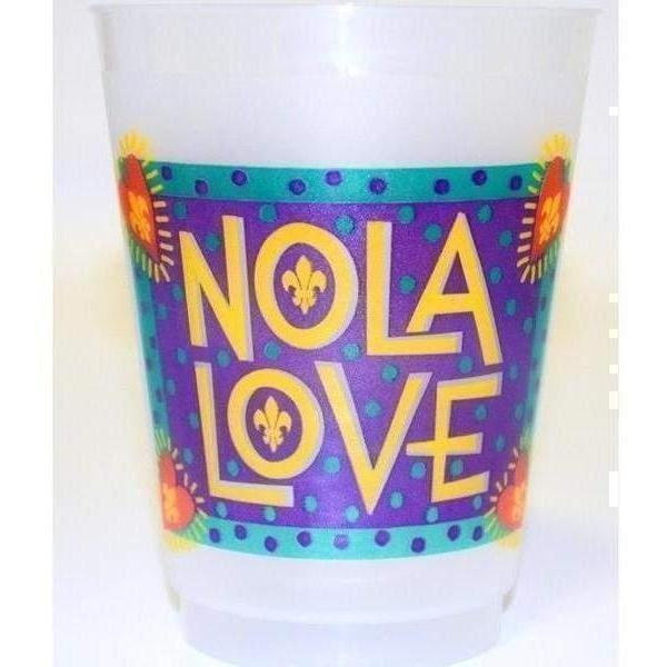 NOLA Funky Folk Love Cups (25/pk)