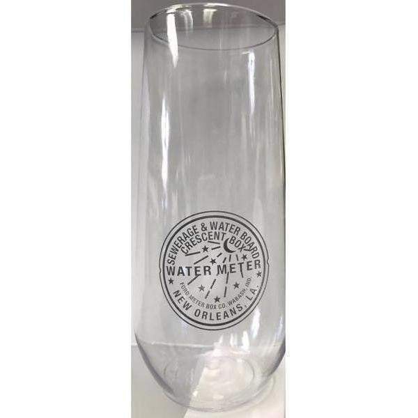 NOLA Water Meter Stemless Champagne Flutes - Party Cup Express