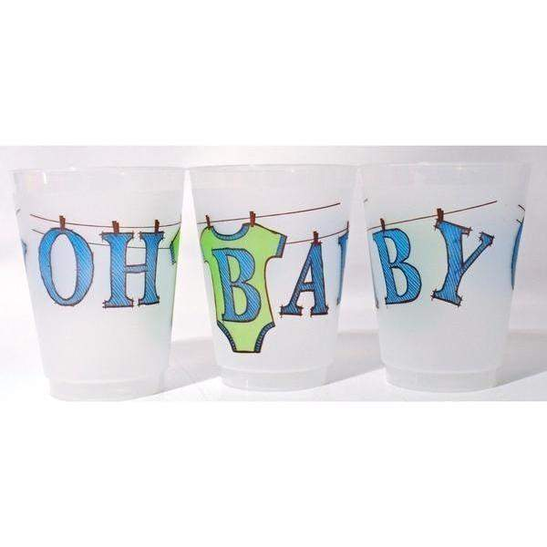 Oh Baby! Frost Flex Cups - Party Cup Express