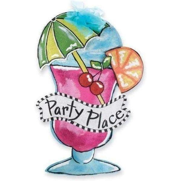 Party Time Door Hanger - Party Cup Express