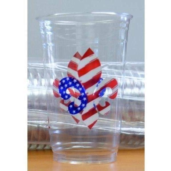 Patriotic Disposable Cups - Party Cup Express