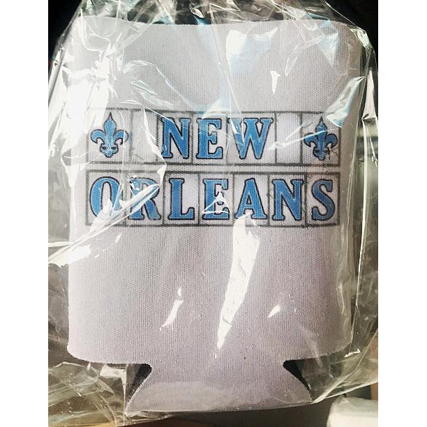New Orleans Street Tiles Coozies (pk/2) - Party Cup Express