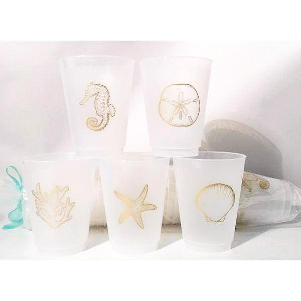 Sea Icon Frost Flex Cups - Party Cup Express