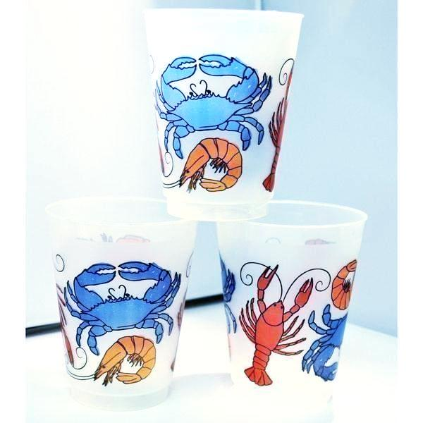 Seafood Boil Frost Flex Cups - Party Cup Express