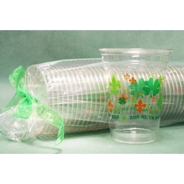 St. Patrick's Day Disposable Cups