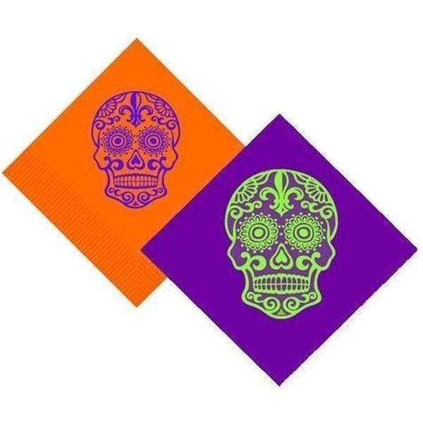 Day Of The Dead {Sugar Skull} Beverage Napkins (pk/25)