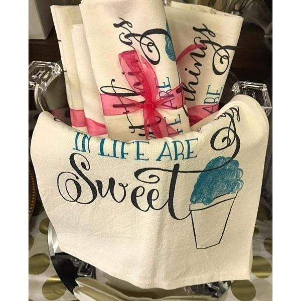 Sweet Life Kitchen Towel - Party Cup Express