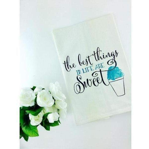 Sweet Life Kitchen Towel