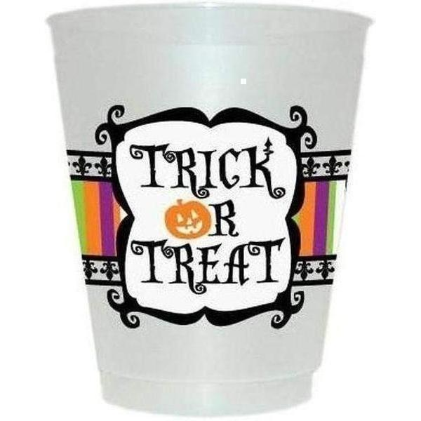 Trick Or Treat Frost Flex Cups - Party Cup Express
