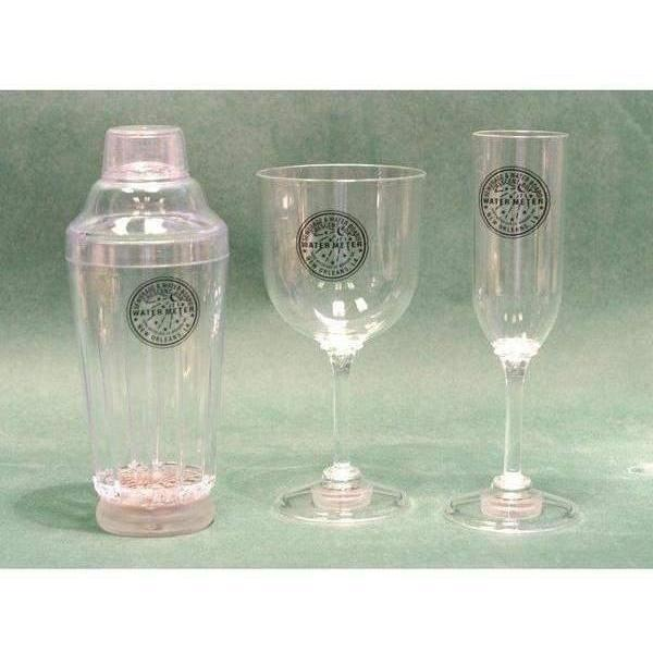 Watermeter Light Up Stemware  - Party Cup Express
