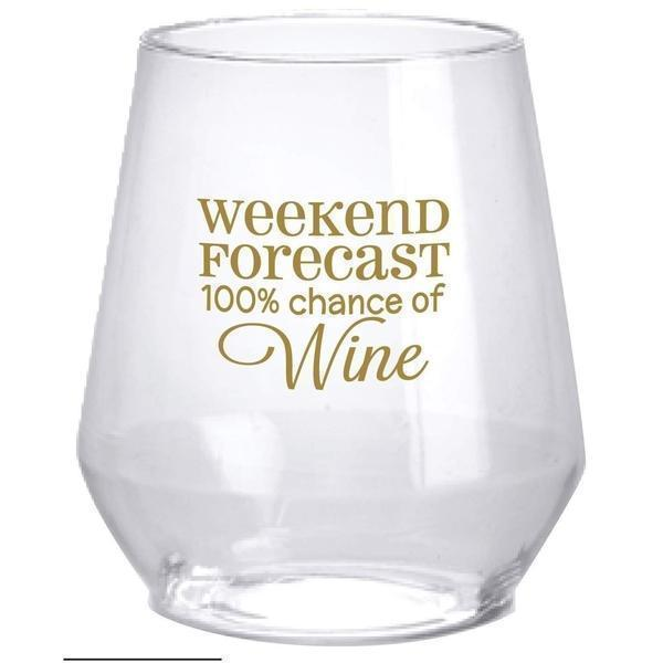 Weekend Forecast 100% Chance of Wine - Party Cup Express