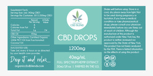 1200mg CBD Drop