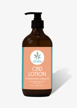600mg Body Lotion