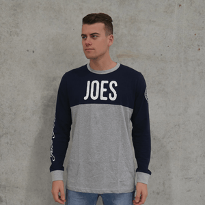 Joe's Panel Long Sleeve Tee