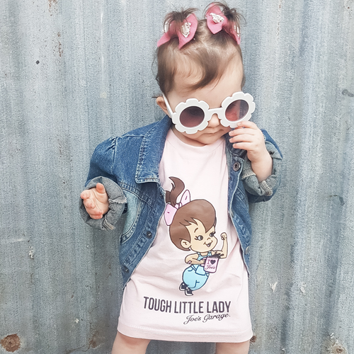 Kid's Tee - Tough Little Lady