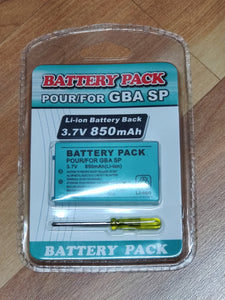 Nintendo GBA SP Game Boy Advance SP Replacement Battery US Fast Free Shipping