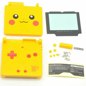 GBA SP GameBoy Advance SP Replacement Shell Pikachu Pokemon