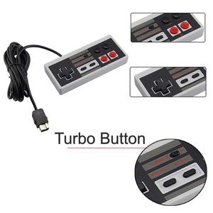 Nidoum 10ft Wired Controller for NES Classic Edition with A+B Button Mode - Kartzill