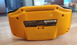 Gameboy Advance Orange IPS V2 MOD 10 Level Brightness Level