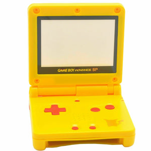 GBA SP GameBoy Advance SP Replacement Shell Pikachu Pokemon - Kartzill