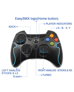 EasySMX ESM-9013 Wireless Gaming Controller - Kartzill