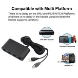 GameCube Controller Adapter 4 port for nintendo Switch Wii U & PC USB - Kartzill
