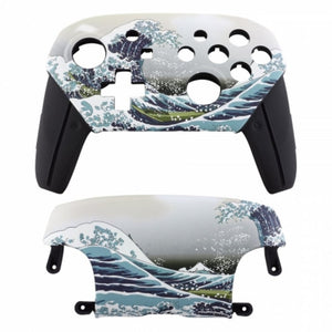 Custom Ocean Waves Shell For Nintendo Switch Pro Controller