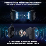 ONIKUMA K20 Wired Stereo Gaming Headset with Microphone for PS4 Xbox One PC