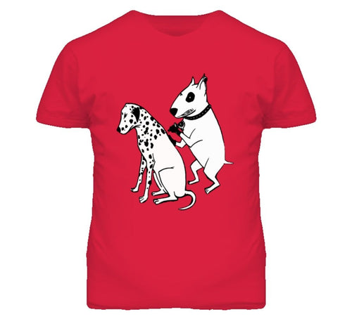 DALMATIAN DOG TATTOO FUNNY BULL TERRIER T Shirt